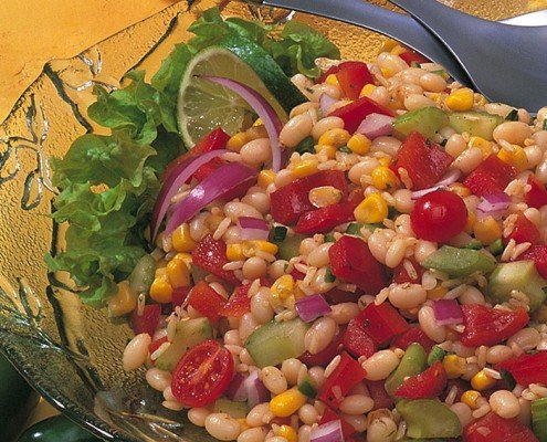Bean Rice and Corn Salad