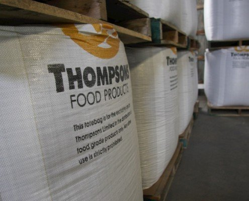 Thompsons Food Product tote bags