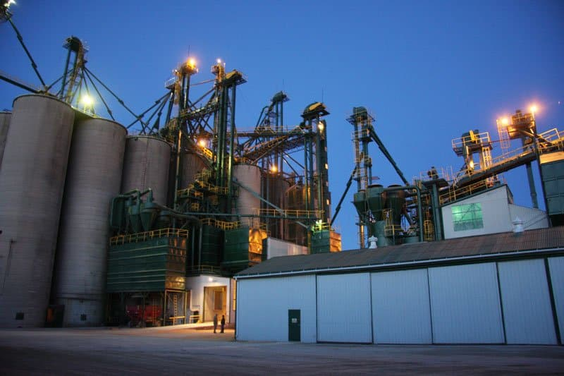 Hensall yard at night photo