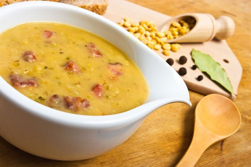 hearty pea soup