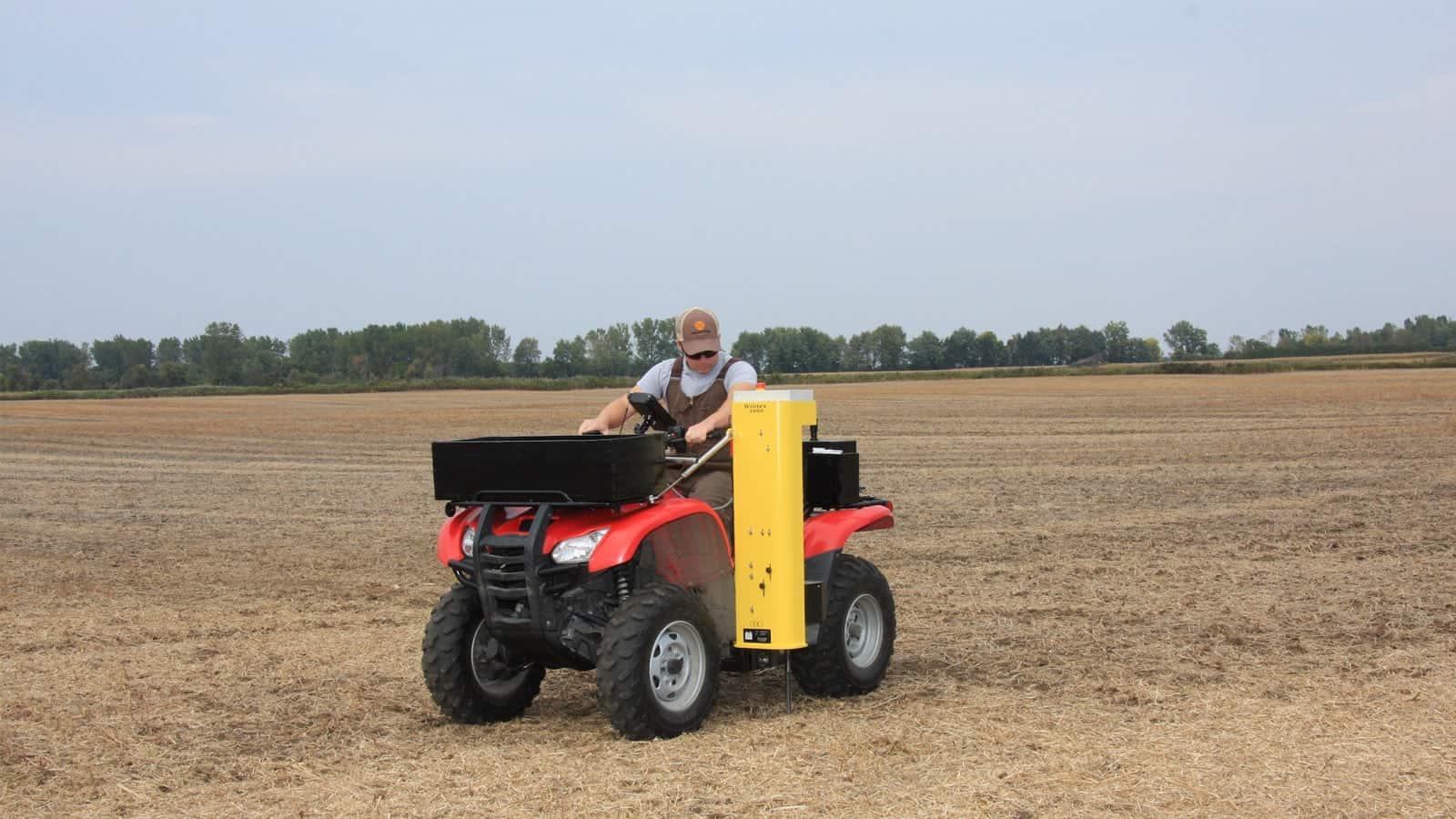Automatic Soil Sampling machine