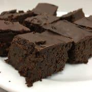 black bean brownies photo