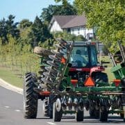 following farm equipment photo
