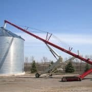 Grain auger and Bin photo