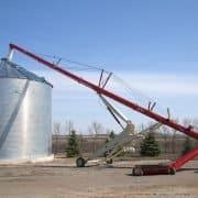 Grain auger and Bin photo
