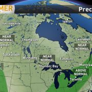 Summer Precipitation Canada Map