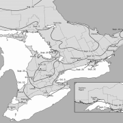 Optimum date to seed winter wheat across Ontario map