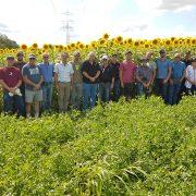 Thompsons Organic Tour group photo
