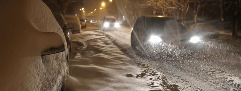 Driving become hazardous in winter