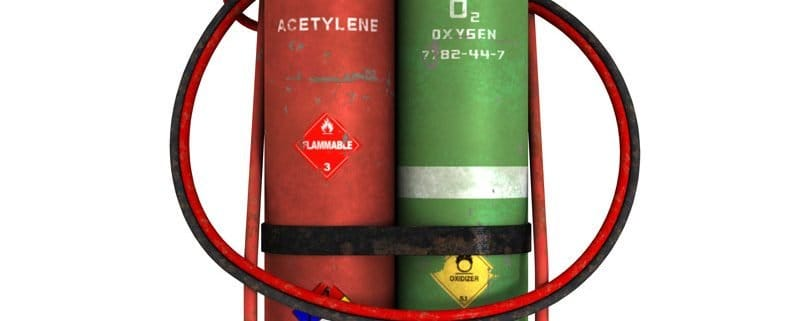 Oxy-Acetalyne Tanks