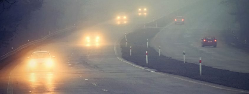 Safety photo driving in fog
