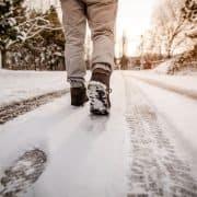 Winter walking photo