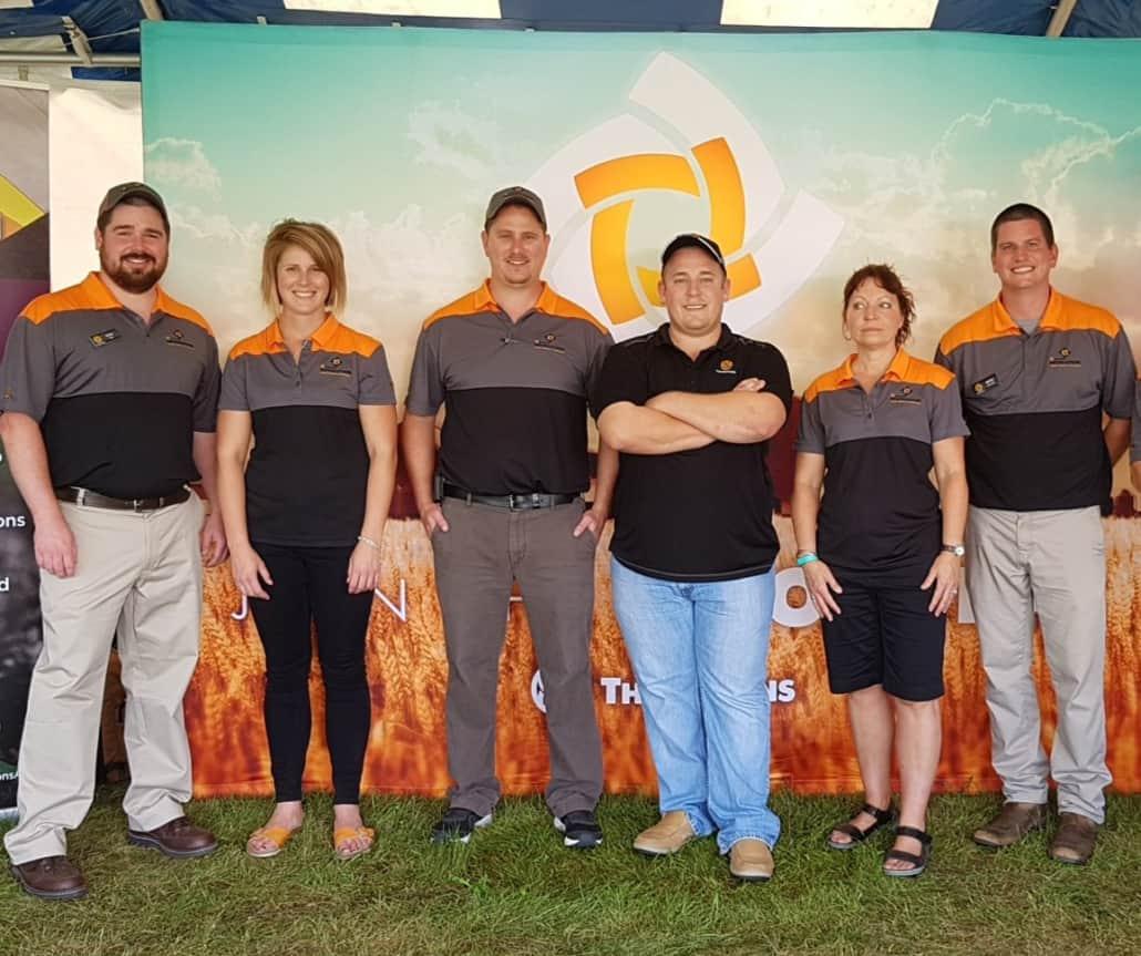 Thompsons staff at COFS