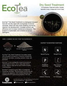 EcoTea Dry Seed Treatment flyer image