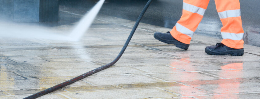 Power washer safety
