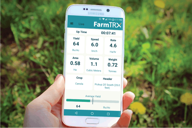 FarmTRX on smartphone