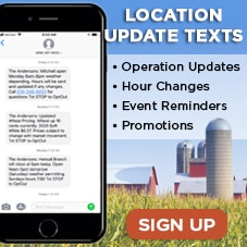 The Andersons Canada Location Texts Sign Up